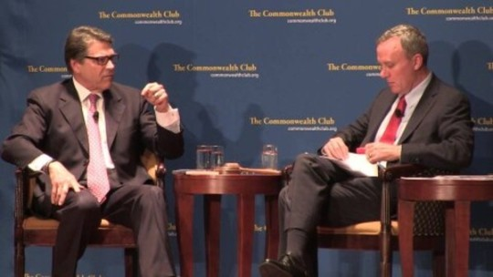 Rick Perry Commonwealth Club San Francisco