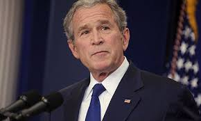Former US President George Bush (Photograph: Shawn Thew/EPA)