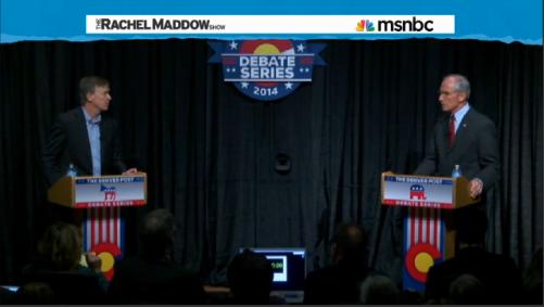 Colorado Republican Gubernatorial Candidate Bob Beauprez (Screenshot from The Rachel Maddow Show)